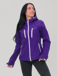 Купить оптом женскую осеннюю весеннюю ветровку темно-фиолетового цвета в интернет магазине MTFORCE 1760TF