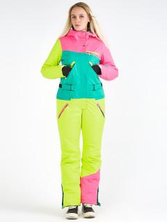Комбинезон женский зимний розового цвета купить оптом в интернет магазине MTFORCE 19691R