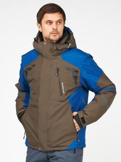 Купить оптом мужскую зимнюю горнолыжную куртку цвета хаки в интернет магазине MTFORCE 1972Kh