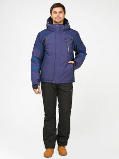 Горнолыжный костюм мужской зимний темно-синего цвета купить оптом в интернет магазине MTFORCE 01972-1TS