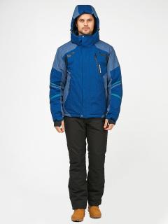 Горнолыжный костюм мужской зимний синего цвета купить оптом в интернет магазине MTFORCE 01972S