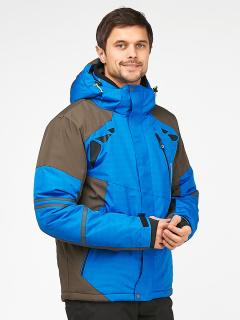 Купить оптом мужскую зимнюю горнолыжную куртку голубого цвета в интернет магазине MTFORCE 1972Gl