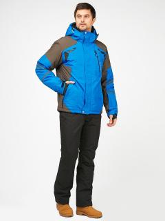 Горнолыжный костюм мужской зимний голубого цвета купить оптом в интернет магазине MTFORCE 01972Gl
