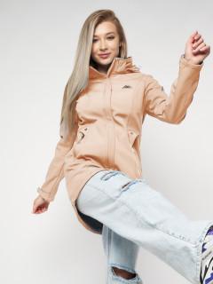 Купить оптом женскую осеннюю весеннюю ветровку softshell в интернет магазине MTFORCE 20371R