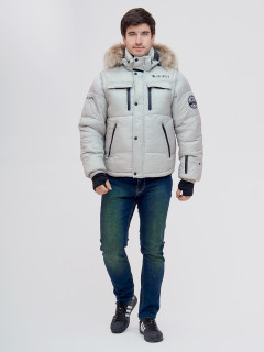 Купить оптом мужскую зимний куртку и безрукавку черного цвета в интернет магазине MTFORCE 2064B