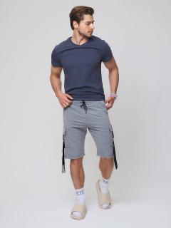 Городского стиля мужские летние серого цвета купить оптом в интернет магазине MTFORCE 21005Sr