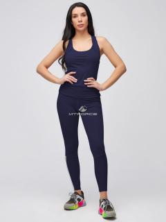 Спортивный костюм для фитнеса женский  розового цвета купить оптом в интернет магазине MTFORCE 21106TS