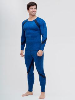 Термобелье мужское синего цвета купить оптом в интернет магазине MTFORCE 2204S