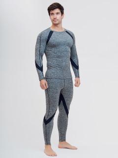 Термобелье мужское серого цвета купить оптом в интернет магазине MTFORCE 2204Sr