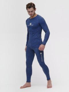 Термобелье мужское синего цвета купить оптом в интернет магазине MTFORCE 2205S