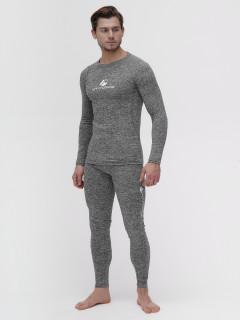 Термобелье мужское серого цвета купить оптом в интернет магазине MTFORCE 2205Sr