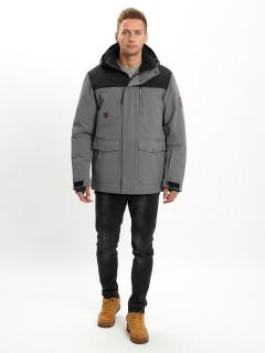 Купить молодежные зимние куртки оптом от производителя дешево в Москве 2155Sr