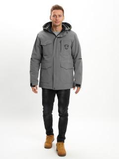 Купить молодежные зимние куртки удлиненную оптом от производителя дешево в Москве 2159Sr