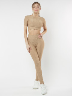 Купить костюмы для фитнеса женский оптом от производителя дешево 22096B