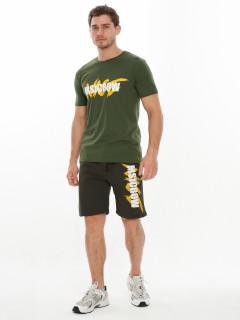 Купить костюмы шорты и футболки мужские оптом от производителя дешево 221007Kh