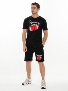 Купить костюмы шорты и футболки мужские оптом от производителя дешево 221008Ch