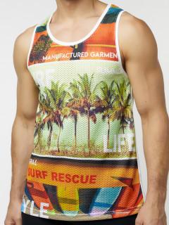 Купить майки мужские пляжные оптом от производителя 221044Sl