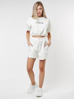 Купить костюм шорты и топ женские оптом от производителя в Москве 22109Bl