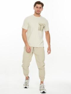 Купить костюмы джоггеры и футболки мужские оптом от производителя дешево 221096B