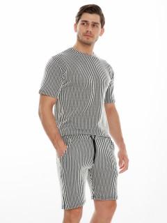 Купить костюмы шорты и футболки мужские оптом от производителя дешево 221130Sr