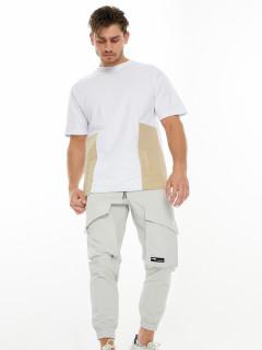 Купить костюмы джоггеры и футболки мужские оптом от производителя дешево 221120Bl