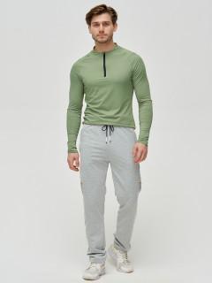 Трикотажные спортивные брюки мужские оптом от производителя купить у поставщика верхней одежды для всей семь MTFORCE в Москве по выгодным ценам артикул 2226