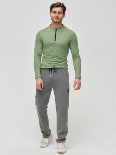 Трикотажные спортивные брюки мужские оптом от производителя купить у поставщика верхней одежды для всей семь MTFORCE в Москве по выгодным ценам артикул 2226TC