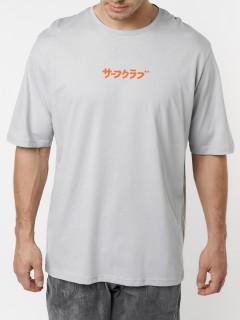 Купить футболки мужские оверсайз оптом от производителя 224016Sr
