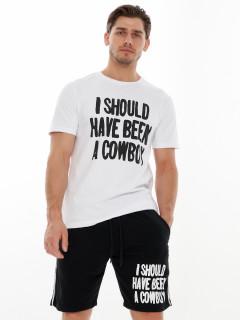 Купить костюмы шорты и футболки мужские оптом от производителя дешево 223021Ch