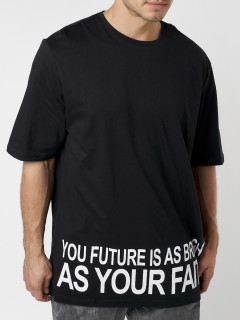 Купить футболки мужские оверсайз оптом от производителя 224012Ch