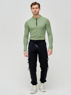 Трикотажные спортивные брюки мужские оптом от производителя купить у поставщика верхней одежды для всей семь MTFORCE в Москве по выгодным ценам артикул 2266Ch