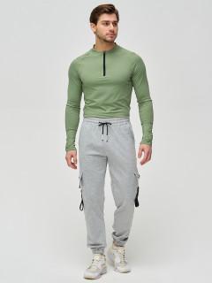 Штаны джоггеры мужские оптом от производителя купить у поставщика верхней одежды для всей семь MTFORCE в Москве по выгодным ценам артикул 2266Sr