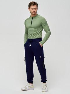 Трикотажные спортивные брюки мужские оптом от производителя купить у поставщика верхней одежды для всей семь MTFORCE в Москве по выгодным ценам артикул 2266TS