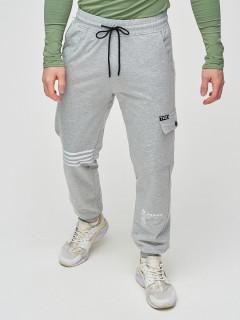 Трикотажные спортивные брюки мужские оптом от производителя купить у поставщика верхней одежды для всей семь MTFORCE в Москве по выгодным ценам артикул 2269Sr
