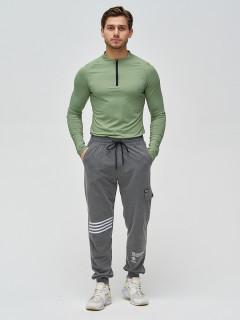 Трикотажные спортивные брюки мужские оптом от производителя купить у поставщика верхней одежды для всей семь MTFORCE в Москве по выгодным ценам артикул 2269TC