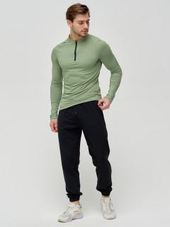 Трикотажные спортивные брюки мужские оптом от производителя купить у поставщика верхней одежды для всей семь MTFORCE в Москве по выгодным ценам артикул 2270Ch