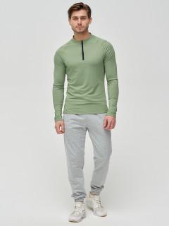 Трикотажные спортивные брюки мужские оптом от производителя купить у поставщика верхней одежды для всей семь MTFORCE в Москве по выгодным ценам артикул 2270Sr