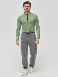 Трикотажные спортивные брюки мужские оптом от производителя купить у поставщика верхней одежды для всей семь MTFORCE в Москве по выгодным ценам артикул 2286TC