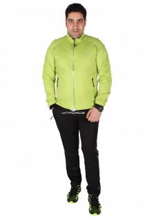 Купить оптом спортивный костюм мужской салатового цвета 23157Sl в интернет магазине MTFORCE.RU