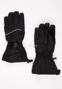 Купить оптом перчатки мужские горнолыжные черного цвета 2385Ch в интернет магазине MTFORCE.RU