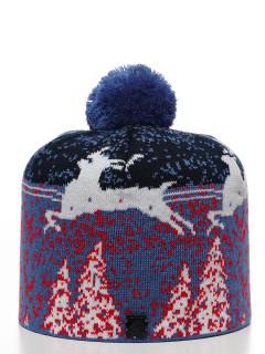 Купить оптом шапку темно-синего цвета в интернет магазине MTFORCE 6007TS