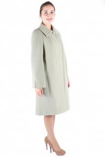 Купить оптом пальто женское фисташкового цвета 265Fs в интернет магазине MTFORCE.RU
