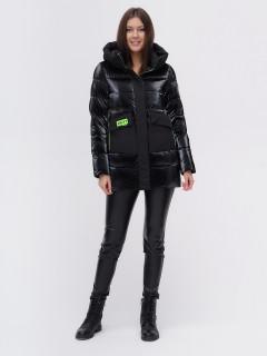 Купить оптом женскую зимнюю модную куртку в интернет магазине MTFORCE 22291Ch