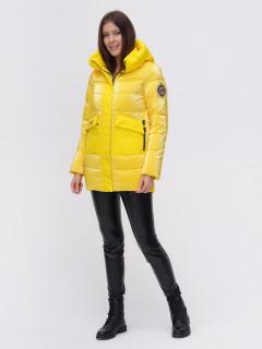 Купить оптом женскую зимнюю модную куртку в интернет магазине MTFORCE 22291J