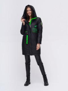 Купить оптом женскую зимнюю куртку удлиненную в интернет магазине MTFORCE 22297Ch