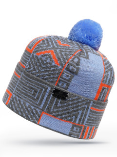Купить оптом шапку голубого цвета в интернет магазине MTFORCE 6009Gl