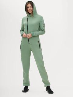 Комбинезон женский трикотажный с начесом купить оптом в интернет магазине MTFORCE 301020Z