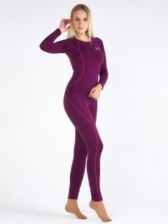 Термобелье фиолетового цвета купить оптом в интернет магазине MTFORCE 3114F