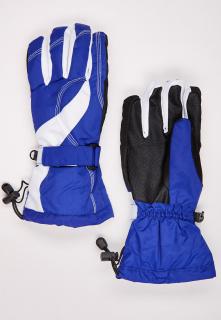 Купить оптом перчатки женские горнолыжные синего цвета 315S в интернет магазине MTFORCE.RU