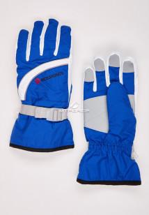 Купить оптом перчатки женские горнолыжные голубого цвета 319Gl в интернет магазине MTFORCE.RU